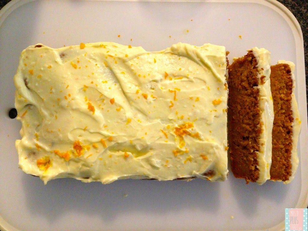 The most delicious carrot and apple loaf cake for The most delicious recipes