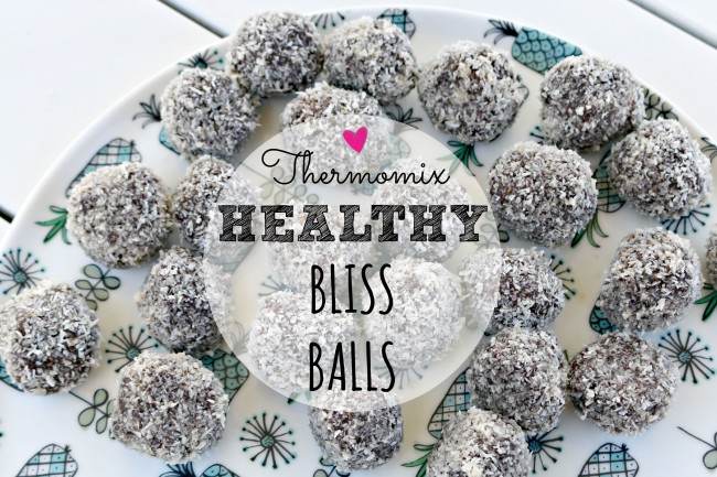 thermomix healthy bliss balls