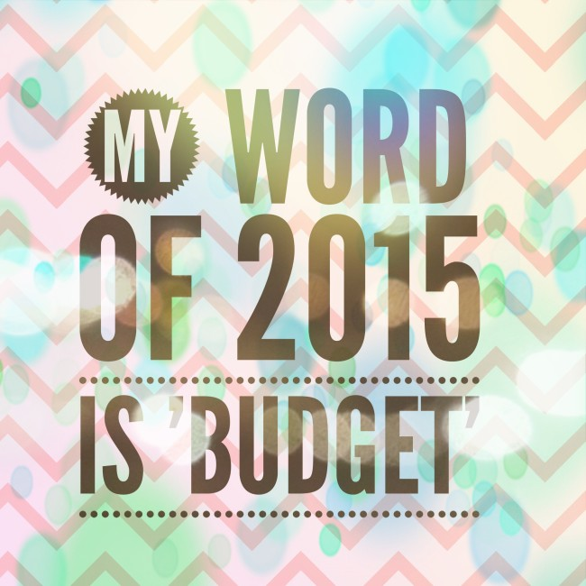 year of the budget
