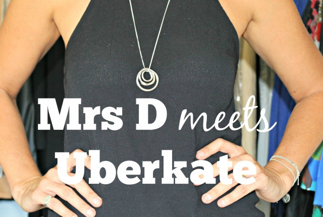 Mrs D meets Uberkate