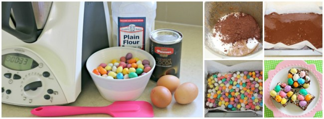 Easter egg brownies 1