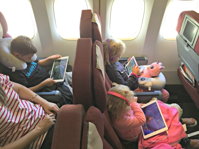 8 tips for travelling long haul with kids
