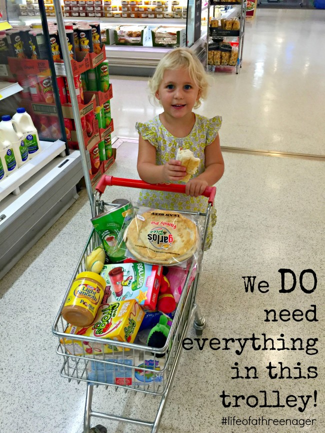 16 signs you are living with a threenager. shopping
