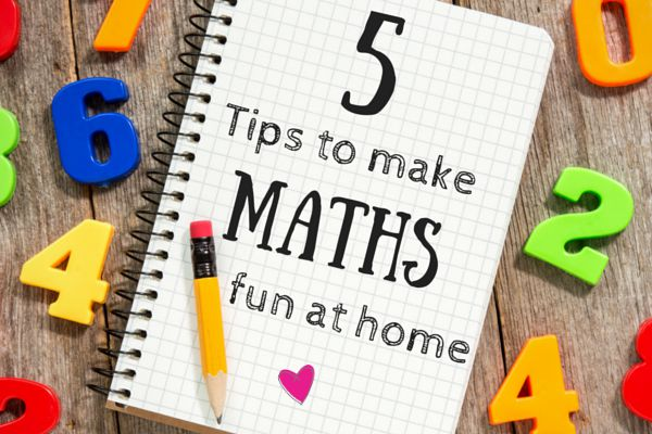 5 tips to make maths fun at home