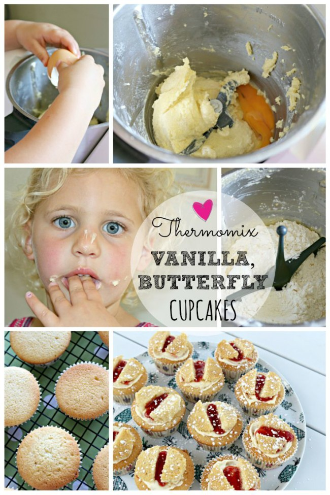 thermomix vanilla butterfly cupcakes 16