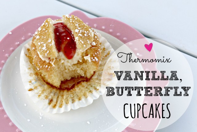 thermomix vanilla butterfly cupcakes 1
