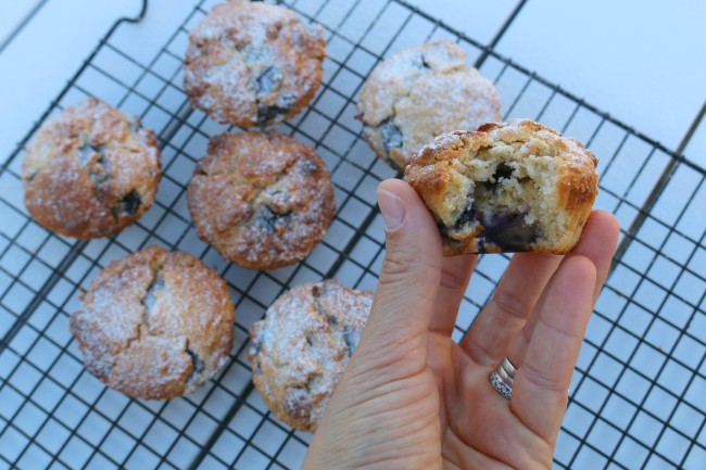 Thermomix coconut, white chocolate and blueberry wholegrain