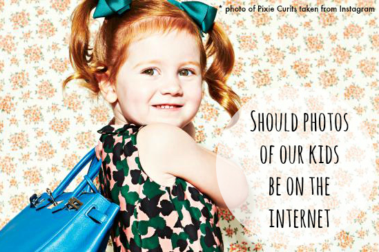 should photos of our kids be on the internet?