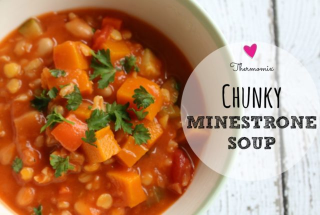 thermomix minestrone soup