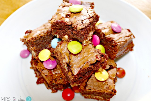thermomix double chocolate surprise brownies 1