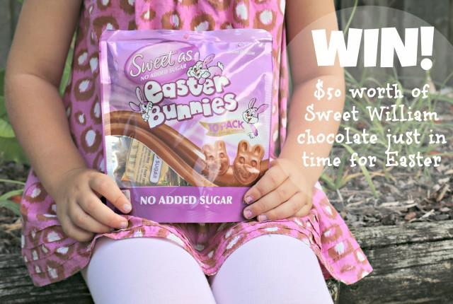 Sweet William sugar free chocolate giveaway 7