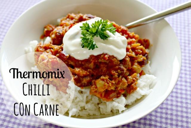 Thermomix chilli con carne