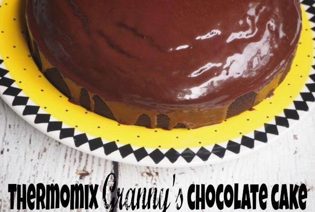thermomix granny's chocolate cake