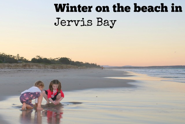 Winter on the beach in Jervis Bay